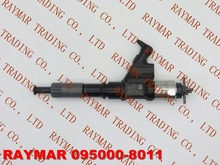 GENUINE Common rail injector 095000-8010, 095000-8011 for SINOTRUK HOWO A7 VG1246080051
