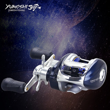 Carbon Baitcasting Reel 12+1 BB Super Light Casting Reel Centrifugal and Magnetic Brake System Bass Fishing