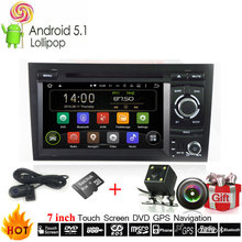 Automotive Multimedia HD Android 7.1 OS For Audi A4 S4 RS4 Car DVD Player With DVR Camera GPS Navigation Radio Stereo Head Unit