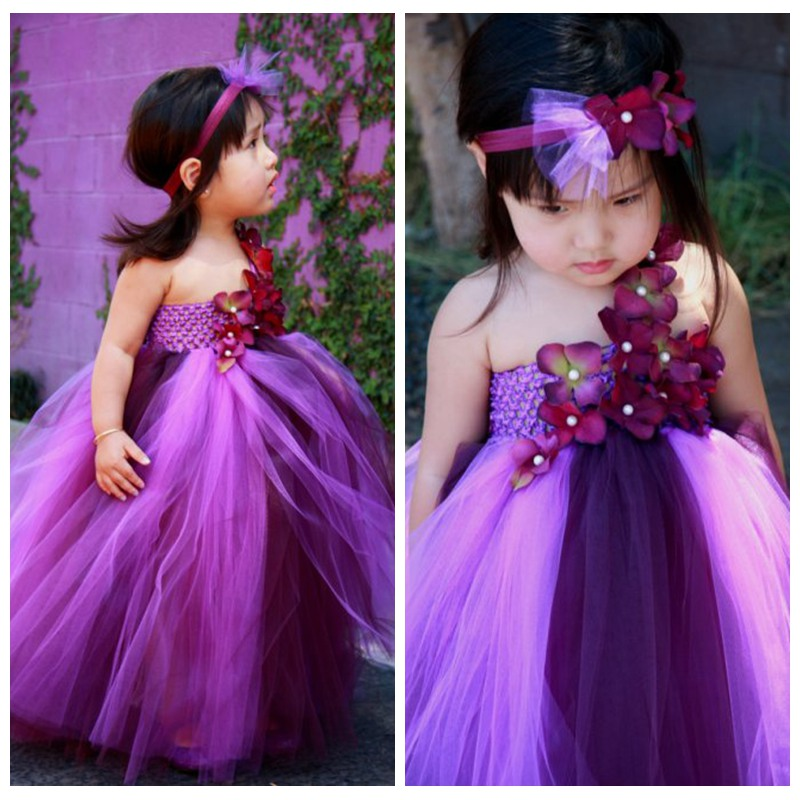 Hot Sale In INS Baby Girl Tutu Dress Girl Flower Fairy Floral Birthday Wedding Party Flower Girls Ball Gown Dress For 2-10Y<br><br>Aliexpress