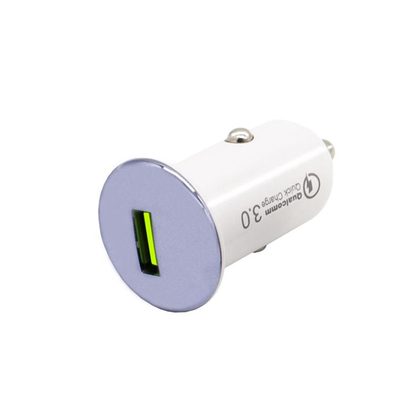 Car charger Quick charge 3.0 purple