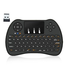 H9 Wireless Keyboard 2.4G Mini Air Mouse Touchpad and Mouse for Google Android TV Box HTPC IPTV X BOX 360 PS3 PC with Battery