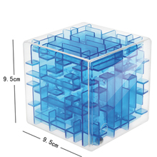 3D Maze Magic Cube Gold 2x2x2 Hand Spinner Toy Fidget Gifts Speed Cubes Square Mini Set Game Puzzle Cube Games 70K498