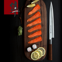 Free Shipping BNL 5Cr15Mov High Quality Professional Cuisine Knife Sashimi Fish Knife Kitchen Slicing Salmon Sushi Cooking Knife