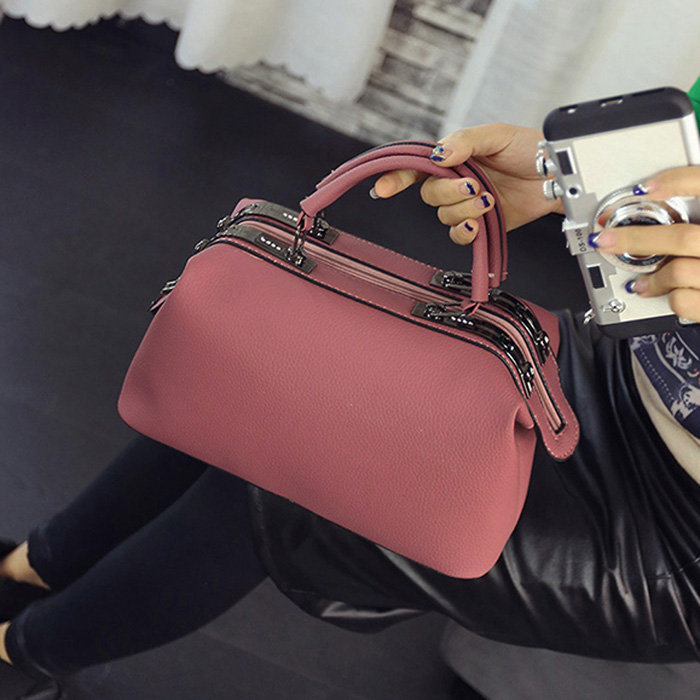 Boston handbags 2017 new Europe handbag bag fashoin doctor Shoulder bag Messenger Bag Bolsa Femininas 576 <br>