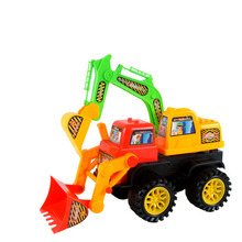 Chanycore Mini Car Toys Vehicle Sets Educational excavator Excavating machinery Toys Kids's Toys free shipping 5169(China)