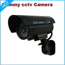 2pcs LED IR Dummy Camera / Fake Camera Indoor for home security cctv system infrared/CCTV wireless/ bullet camera