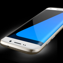 Luxury Original Brand Ginmic Aluminum Metal Bumper For samsung galaxy S7 Edge Case Column Shape Frame With Metal Button