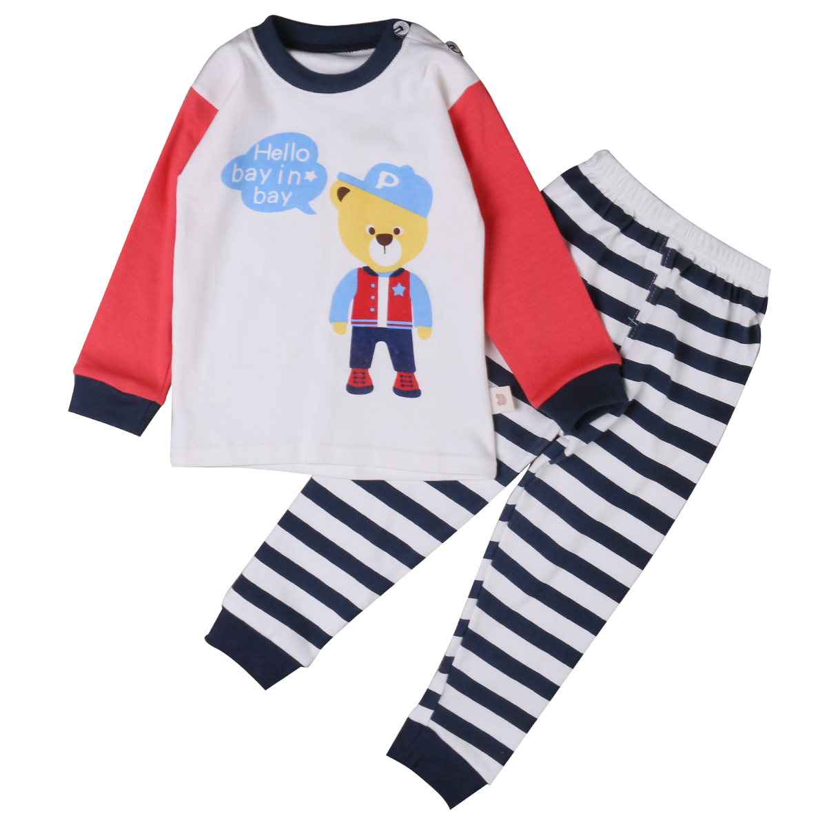 2016 Autumn children baby boys girls clothing sets cotton casual set kids printed t-shirt+pants 2pcs outfit clothes set<br><br>Aliexpress