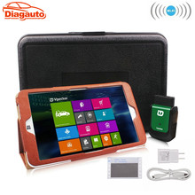 Diagauto V8.2 EasyDiag Wifi With Win10 Tablet OBD2 Professional Diagnostic Tool Function as Launch X431 idiag Automotive Scanner