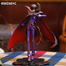 RMDMYC 23cm japanese Anime Code Geass R2 Lelouch Action Figure Toys The Most Popular Lamperouge ZERO PVC Crafts Collection Doll