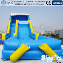 Inflatable Biggors Shipping Gonfiabile Inflatable Water Slide Pool For Kids Game(China)