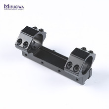 Mizugiwa One Piece 25.4mm Low Profile Dovetail Flat-top Riflescope Mount Ring Adapter 11mm Picatinny Rail Pistol Airsoft Hunting(China)