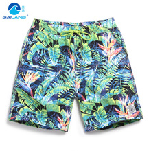 Board shorts men surf sweat gym swimming trunks lined mens swimwear bathing suit boadrshorts bemudas liner swimsuit sport A5(China)