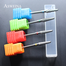 "ASWEINA 2017 1Pcs High Quality 3/32"" Carbide Nail Drill Bit 4 Size To Choice Nail Accessory Electric Manicure Machine Nail Bit"