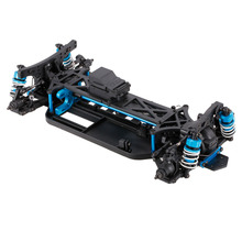 1/10 4WD Electric On-Road Drift Racing Car Frame Kit Chassis RC Car Vehicle Model Part(China)