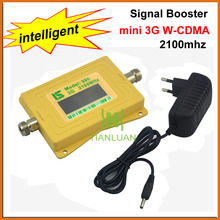 Intelligent 2100MHz Mobile Phone W-CDMA Signal Booster UMTS Signal Repeater 3G Booster Cell Phone Amplifier with 5v Power Supply