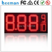 "leeman 10inch 12"" LED Gas Price Sign \ Price LED Screen \ Digital alibaba cn 12 inch red large led gas price digital display"