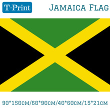 90*150cm/60*90cm/40*60cm/15*21cm Jamaica National Flag and Banner Home Decor World Cup National Day Olympic Games(China)