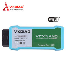WIFI version VXDIAG VCX NANO for Land Rover/Jaguar V141 VXDIAG VCX NANO Auto Diagnostic Tool Vxdiag for LandRover/Jaguar(China)