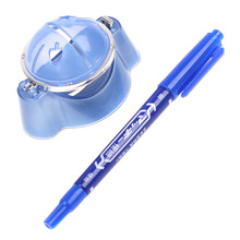2016 New Arrival Golf Ball Line Liner Marker Template Drawing Alignment Marks Putting Tool Blue Golf Scriber Golf Criber