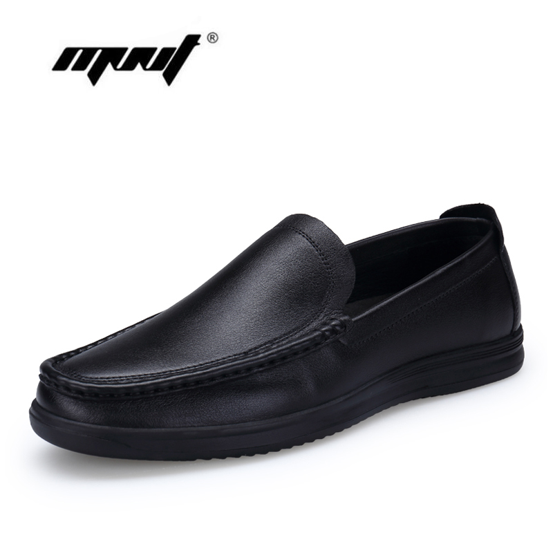 High Quality Men Casual Shoes Natural Leather Flats Shoes Men Moccasin, Driving Leather Shoes Zapatos Hombre<br>