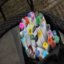 T110132/48/72 Colors Alcohol Based Sketch Marker Set Touch Marker Pen For Drawing Manga Design Art Set Supplies