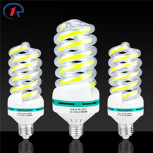 Buy ZjRight E27 COB spiral LED Energy Saving lights 5W 9W 16W 24W 40W Lighting bulb Cafe school library factory Office Indoor lamps for $2.73 in AliExpress store