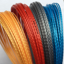 1 pc Free shipping Bamboo polyester tennis strings 1.25mm 12M tennis racket string(China)
