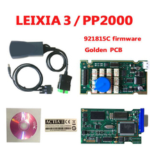 2017 Newest Lexia3 with 921815C Firmware lexia PP2000 V48/V25 Lexia 3 Diagbox 7.83 for Ci-troen for Pe-ugeot Lexia-3 diagnostic(China)