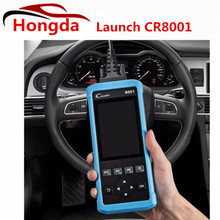 Newest Launch CReader 8001 Code Reader Diagnostic Tool Auto Scanner CR8001 Meet all OBDII/EOBD protocols(China)
