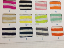 Wholesale Factory direct sales Jersey Linen 1*1 Stripe Knitted Fabric F172#(China)