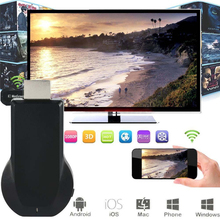New!1080P MiraScreen WiFi Display Receiver AV Dongle DLNA Airplay Miracast HDMI miracast devices best miracast dongle APE