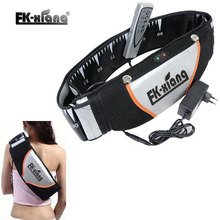 FK-Xiang Masaje Heat Vibration Shape Slimming Massage Belt Electric Waist Sauna Belt Lose Weight Slimming Machine slim Belt(China)