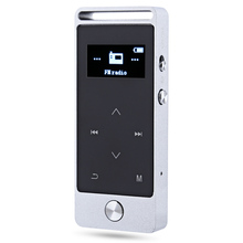 BENJIE S5 Touch Screen MP3 Player Mini OLED 8GB Digital Voice Recorder Lossless HiFi Sound MP3 Audio Player FM Radio E-book