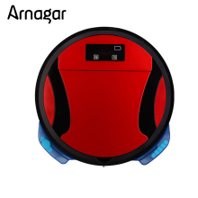 Arnagar Robotic Vacuum Cleaner 1200 pa Double side Brushes,Wet Dry Vacuum Mop,Auto Charge Sweeping Robot(China)