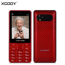 XGODY T810 2.8 Inch 2G GSM Unlocked Cellphone Key Button Phone FM Radio MP3 Bluetooth Cheap Old Man Phone with Free Shipping(China)