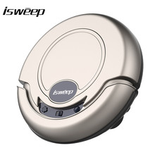 New arrival Ultra Thin Intelligent Vacuum Cleaner Sweep Floor Robot Vacuum Cleaner with Strong Suction Super Quiet Design(China)