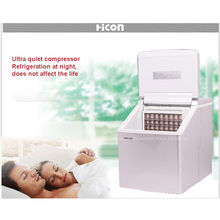 1pc HZB-13F 20kgs/24H Portable Automatic ice Maker, Household ice cube make machine for home use, bar, coffee shop