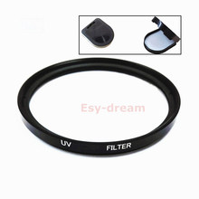 25 27 30 30.5 37 40.5 43 46 49 52 55 58 mm Glass UV Filter Lens Protection for Canon Nikon Sony Pentax Olympus Camera Lenses(China)