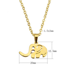 Buy Stainless Steel jewelry Necklace 2017 New Arrival Elephant chain hot sale new fashion Stainless Steel jewelry Gift Fashion Chain for $1.44 in AliExpress store