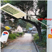 super bright 15leds Solar street light home outdoor waterproof village hoop high pole lamp villa garden wall lamp(China)