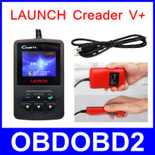 2016 Original LAUNCH Creader V+ OBD2 Code Reader CR V Plus Live Data Scanner Auto Car Diagnostic Tool Update Online Free