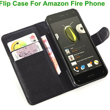 BrankBass Wallet Fire Case Cover Flip PU Leather Cover Case For Amazon Fire Phone with Card Slots Holder