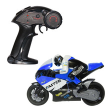 New Stunt off road rc car 1/16 Scale 2.4G Remote Radio Control Motorcycle with Inertia Wheel Device and Realistic Shock Absorber