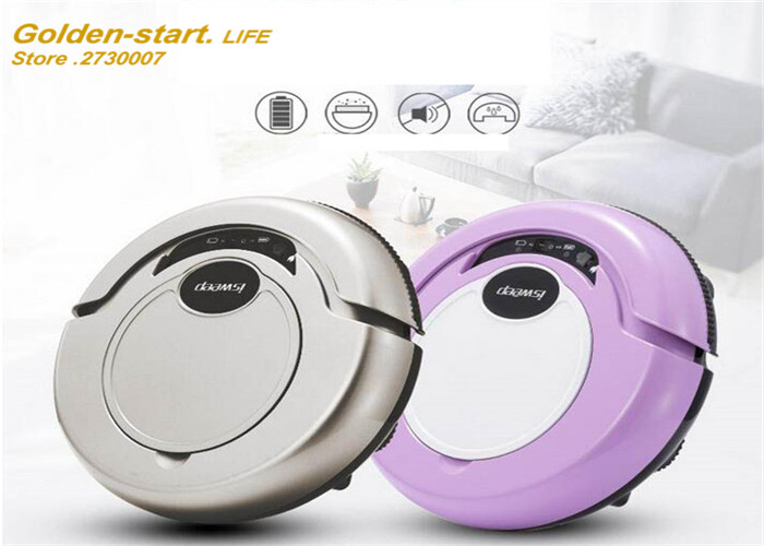 Intelligent Vacuum Cleaner Automatic Mute Sweeping Robot(China (Mainland))