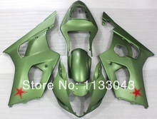 Injection mold For SUZUKI GSX-R1000 K3 03 04 Green Je14555 GSX R1000 K3 GSXR 1000 2003 2004 GSXR1000 Fairing Kit