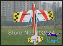 RC 3D airplane/RC MODEL HOBBY TOYS/-wingspan 1000mm hummer 3D plane(kit set ) EPP PLANE