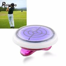 Relefree Golf Slope Putting Helper Level Reading Ball marker With Hat Clip Outdoor Sports Golf Accessories