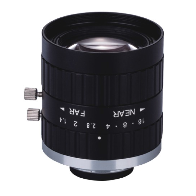 HD 5MP FA 8mm C-Mount Industrial Lens Without Distortion Professional Industrial Camera Lens
